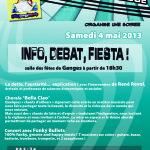 """INFO, DEBAT, FIESTA ! soirée organisée par l'association """"la République"""""""